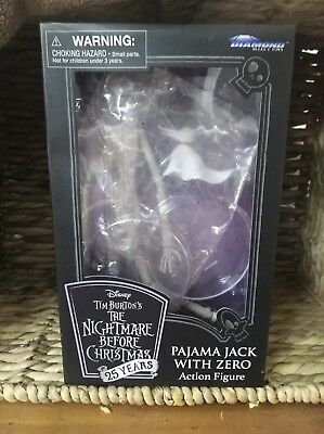 Disney Tim Burtons The Nightmare Before Christmas 25 Years Pajama Jack With Zero