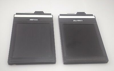 Lisco Regal Ii  & Fidelity Elite 4X5 Film Holder Holders