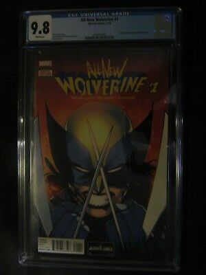 All New Wolverine 1 CGC 9.8 2016 1st Laura Kinney as 1st Print White Page Bengal