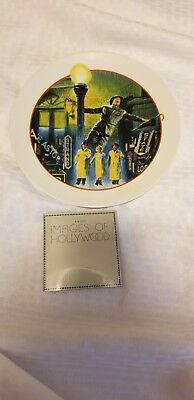 Images Of Hollywood Collectors porcelain Plate Singing In The Rain IN BOX