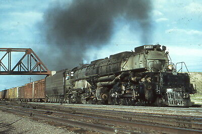 8x10 color photo of UNION PACIFIC 4021 BIG BOY