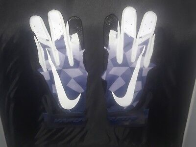 Game Issued Batting Gloves / Nike Vapor /  Adult Size: XL / Color: Purple.-