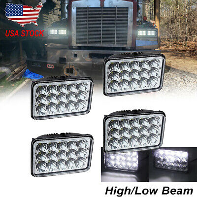 Car & Truck Headlights 4x6FREIGHTLINER CLASSIC KENWORTH W900