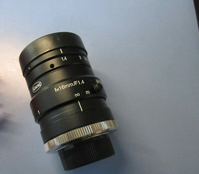 1pc Used KOWA LM16HC 16mm focal length HD industrial lens