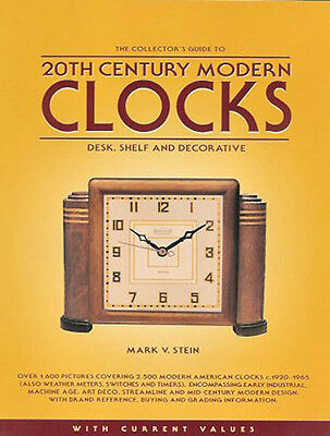 Collectors Guide to 20th Century Modern Clocks 1920-1965 ID/Value Guide Book