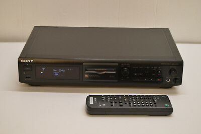 WORKS GREAT Sony MDS-JE510 MD MiniDisc Recorder / Player Deck + remote