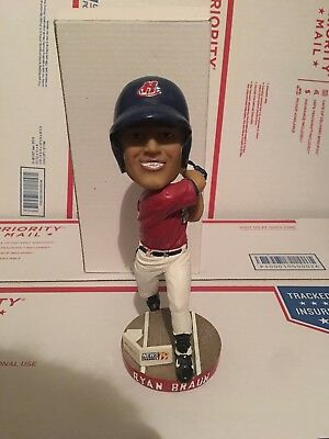 2008 Huntsville Stars Ryan Braun Milwaukee Brewers Bobblehead Minor League SGA