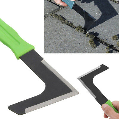 L Shape Garden Patio Weed Cutter Weeder Tool Weeding Moss Paving Groove Remover