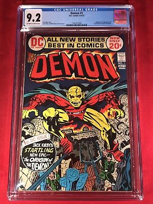 The Demon #1 CGC 9.2 1st Etrigan the Demon Kirby**Brand New Case** Movie Coming!
