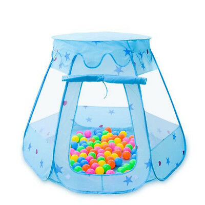 Children Ocean Ball Pit Pool Toy Outdoor Indoor Tent Fairy House Princess Tent L