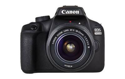 Canon EOS 4000D with 18-55 mm III Lens