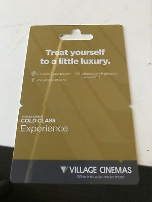 Gold Class Experience. Exp 12/19. Value $159