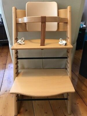 Stokke Tripp Trapp high chair with infant seat