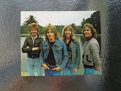 1978 Nabisco Vita Brits Rock Swaps Cereal Cards Ted Mulry Gang TMG Aussie Music