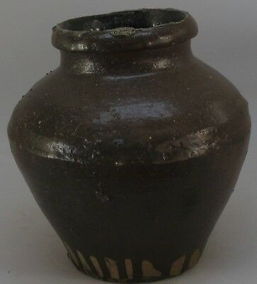 Antique Chinese Ginger Jar Pottery British Columbia