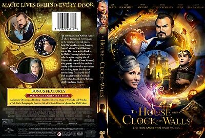 The House With A Clock In Its Walls(2018) DVD FAST SHIPPING!!! READ DESCRIPTION