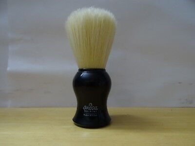 Omega Authentic Shaving Brush - Made in Italy-black color