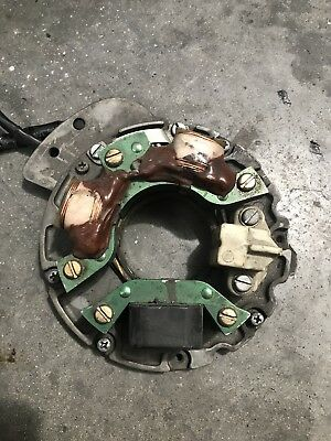 JOHNSON/EVINRUDE OUTBOARD PART 40hp48hp50hp55hp STATOR PLATE WITH TRIGGER