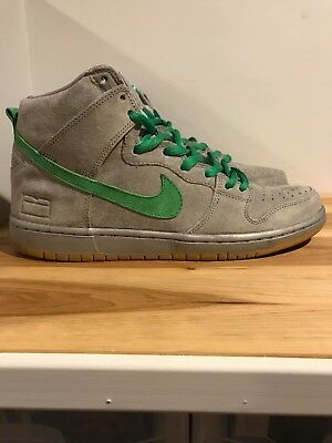 lowest price b0832 40433 Nike SB Silver Box Dunk High. Men s Size 9. VNDS.