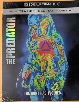 The Predator (4K/Blu-ray/Digital) Target Exclusive 36 page book Digibook 2018