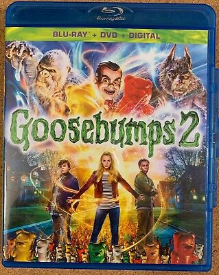 Goosebumps 2 Blu Ray 1 Disc Only Free World Wide Shipping Buy It Now Jack Black