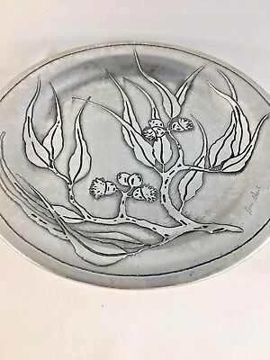 Don Sheil Signed Flowering Gum Plate