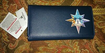 Disney Parks Discover The Magic Compass Mickey Wallet