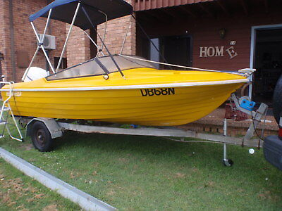 Runabout Steber 4.5m 115 Hp Evinrude