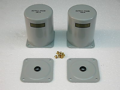 Two Western Electric 197A transformer case replica(for 106A tube amplifier)