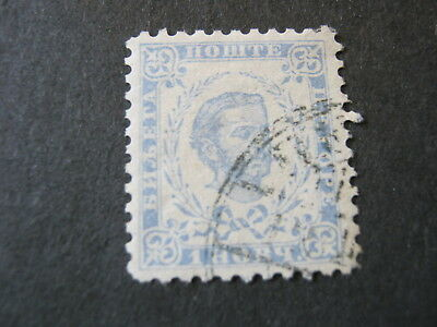 MONTENEGRO  1894 (NEW COLOUR)  1n GREY-BLUE (perf 10.5)  FINE USED