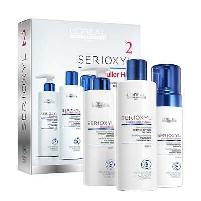 L'Oreal Professionnel Serioxyl Nr 2 Anti-thinning Programme. Free P&P