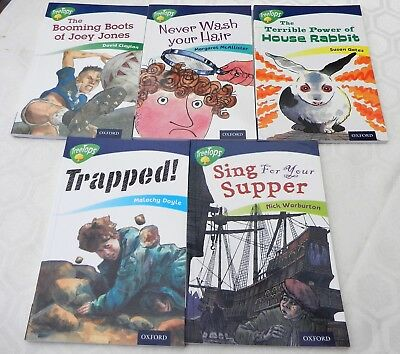 Oxford Reading Tree ORT Treetops Books x 5 - Stage 14