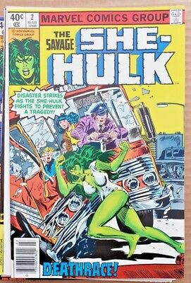 * The Savage SHE-HULK #2 (NM 9.4) from an ORIGINAL OWNER Collection *