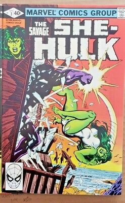 * The Savage SHE-HULK #3 (NM 9.4) from an ORIGINAL OWNER Collection *