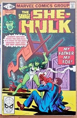 * The Savage SHE-HULK #4 (NM 9.4) from an ORIGINAL OWNER Collection *