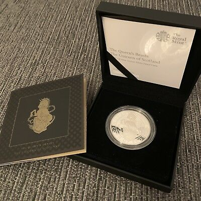The Queen's Beasts: The Unicorn of Scotland 2017 UK One-Ounce Silver Proof Coin