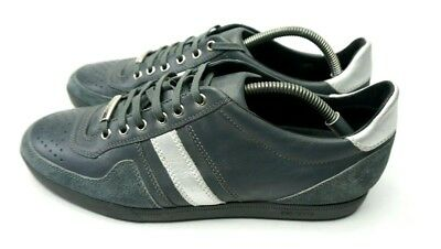 Christian Dior Homme Mens Sneakers Trainers Runners Size 42 UK 8 Slate Grey 6053ecded84