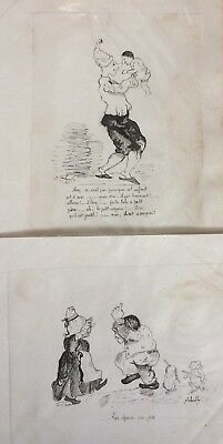 Vintage French Drawings