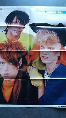 thompson twins poster 8 pages ou bryan ferry