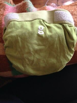 G Nappies Nappy Large Reusable Green (Used And Good Condition)