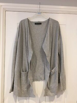 Mothercare Blooming Marvellous Grey Maternity Cardigan Size 10