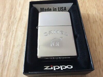 Zippo lighter Camel 🐪  stunning detail new with box