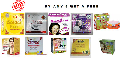 Assorted Beauty Cream (Buy 5 Get 1 Free (Buy Any 5 Get 1 Free)