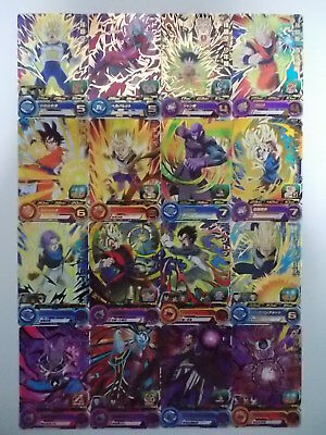 Super Dragon Ball	Heroes	UM6	Common & Rare 48 cards complete set