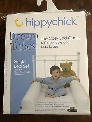 Hippychick Dream Tubes The Cosy Bed Guard Single Bed Set