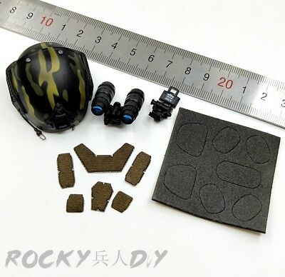 Helmet & Accessories for Easy&Simple ES 26029 PMC 1/6 Scale Action Figure