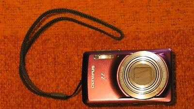 Olympus MODEL N° µ 7030 14.0 MP Digital Camera - Violet