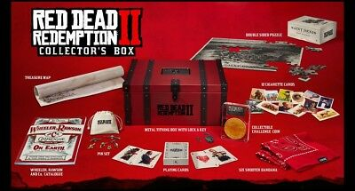 Red Dead Redemption 2 Collector's Box (no game). Brand new, never opened, mint