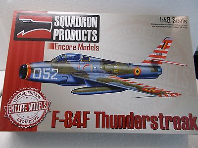 BELGIAN AIR FORCE   F-84F   THUNDERSTREAK  scale  1/48