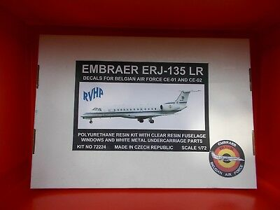 Embraer EMB-135 LR - RVHP - Belgian Air Force 15ième Wing - résine - scale 1/72